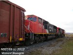 CN 5756 on the 403 West